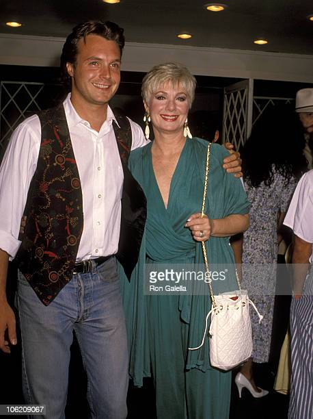 Ryan Cassidy and Shirley Jones during Play Performance of Love Letters at Canon Theater in Beverly Hills California United States