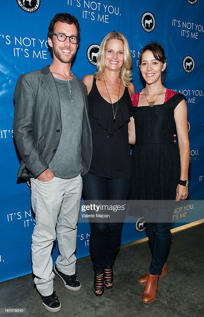 Ryan Churchill, Joelle Carter and Abby Miller arrives at the premiere of 'It's Not You, It's Me' at Downtown Independent Theatre on September 18, 2013 in Los Angeles, California.
