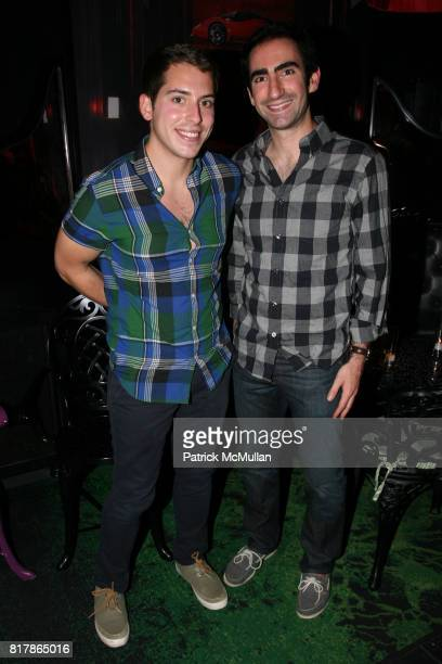 Ryan Citron and Terry Sanders attend INFA Energy Brokers LLC celebrates the release of BRAD SCHAEFFER's 'Hummel's Cross' at Provocateur on September...