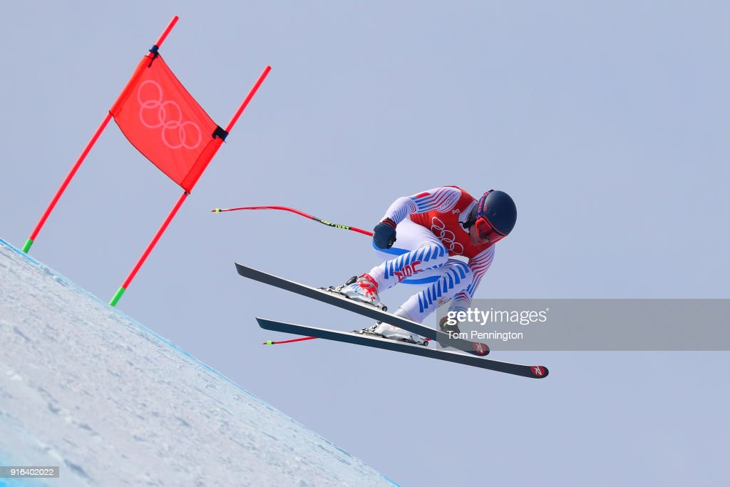 Alpine Skiing - Winter Olympics Day 1