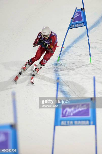 Ryan CochranSiegle of The USA during the Audi FIS Alpine Ski World Cup Men's Parallel Giant Slalom race on December 19 2016 at Alta Badia Italy