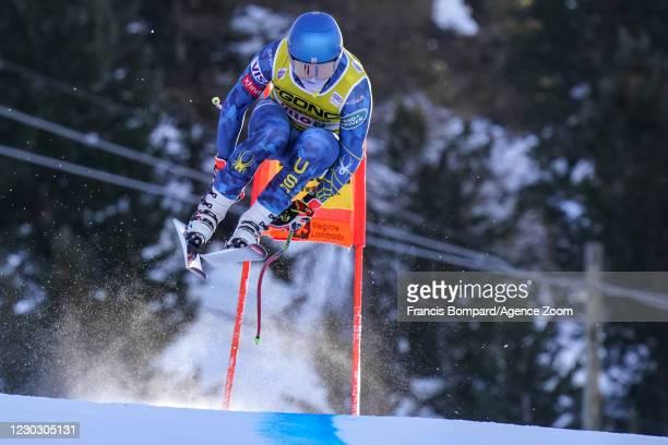 Ryan Cochran-siegle of USA during the Audi FIS Alpine Ski World Cup Men's Downhill Training on December 26 - December 27, 2020 in Bormio Italy.