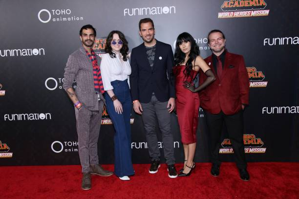 """CA: Los Angeles Premiere Of Funimation's  """"My Hero Academia: World Heroes' Mission"""""""