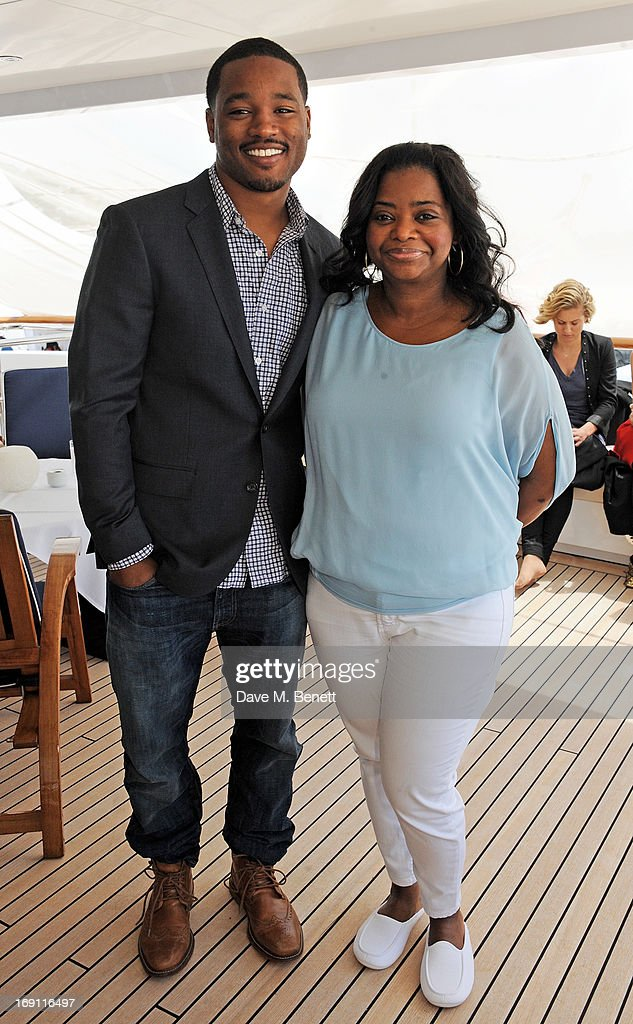 Ryan Coogler (L) and Octavia Spencer attend a lunch hosted by Len Blavatnik, Harvey Weinstein and Warner Music during the 66th Cannes Film Festival on board the Odessa at Old Port on May 19, 2013 in Cannes, France.
