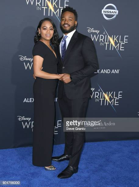 Ryan Coogler arrives at the Premiere Of Disney's 'A Wrinkle In Time' on February 26 2018 in Los Angeles California