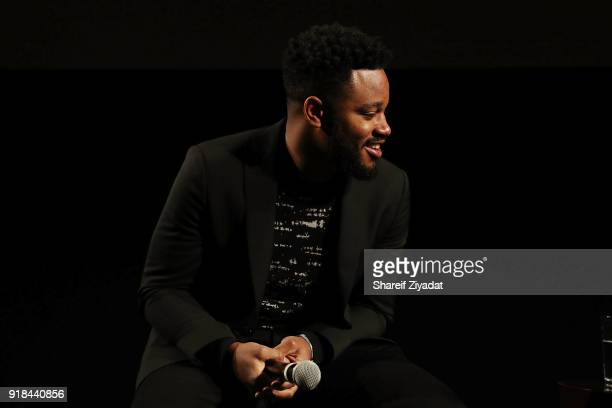 Ryan Coogler attends 'Black Panther' Brooklyn Screening at BAM on February 14 2018 in New York City