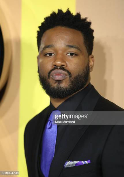 Ryan Coogler attends the European Premiere of 'Black Panther' at Eventim Apollo on February 8 2018 in London England