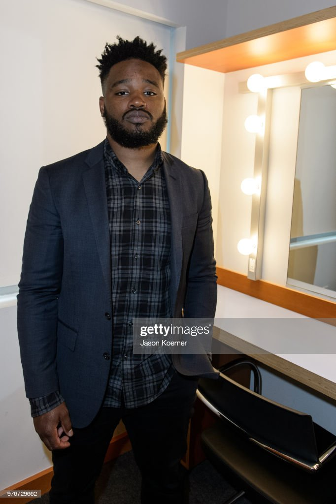 Ryan Coogler poses for a portrait backstage during ABFF Talks : A Conversation with Ryan Coogler at the New World Symphony Center during the 22nd Annual American Black Film Festival on June 16, 2018 in Miami Beach, Florida.