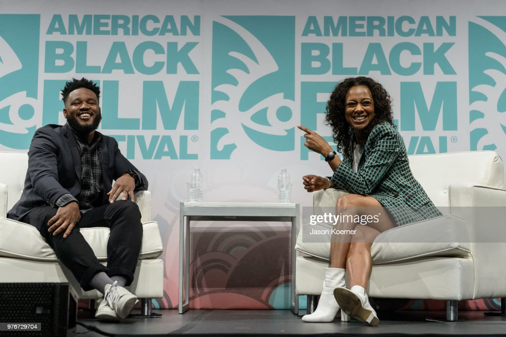 Ryan Coogler speaks on stage during ABFF Talks : A Conversation with Ryan Coogler at the New World Center during the 22nd Annual American Black Film Festival on June 16, 2018 in Miami Beach, Florida.