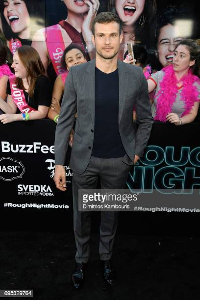 Ryan Cooper attends the 'Rough Night' premeire at AMC Loews Lincoln Square on June 12 2017 in New York City