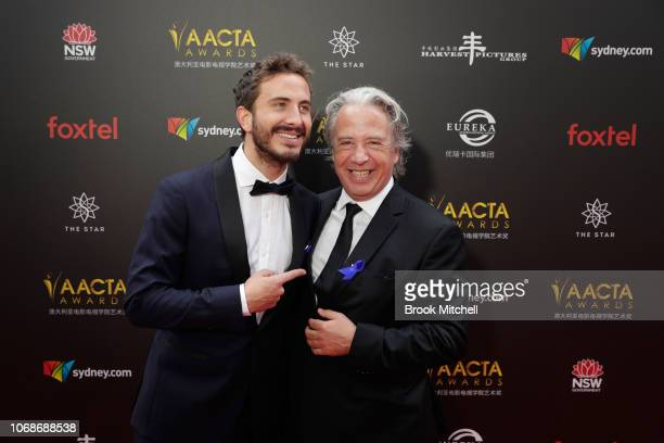 Ryan Corr and Brett Popplewell attend the 2018 AACTA Awards Presented by Foxtel at The Star on December 5 2018 in Sydney Australia