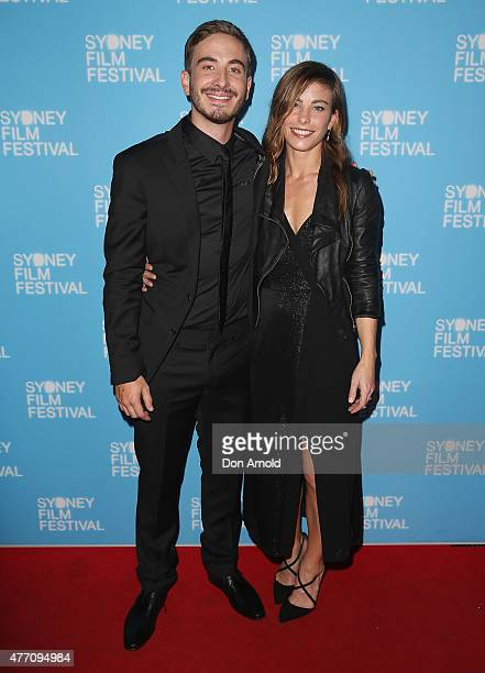 Ryan Corr and Brooke Satchwell arrives at the 'Holding The Man' World Premiere during the Sydney Film Festival Closing Night Gala at the State...