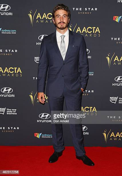 Ryan Corr arrives at the 4th AACTA Awards Luncheon at The Star on January 27, 2015 in Sydney, Australia.