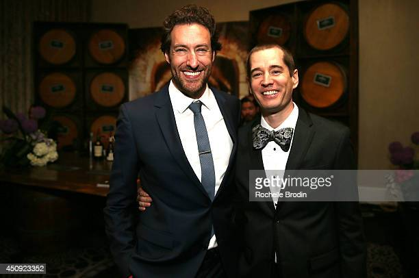 Ryan Craig and Jason Black attend afterparty for Absolut ELYX And The Glenlivet At The Critics Choice Television Awards at The Beverly Hilton Hotel...