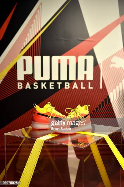 Ryan Cross attends the first look of PUMA basketball shoe Clyde Court Disrupt on June 20 2018 in Brooklyn