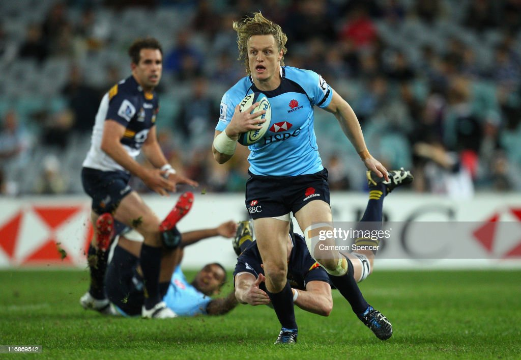 Super Rugby Rd 18 - Waratahs v Brumbies : News Photo