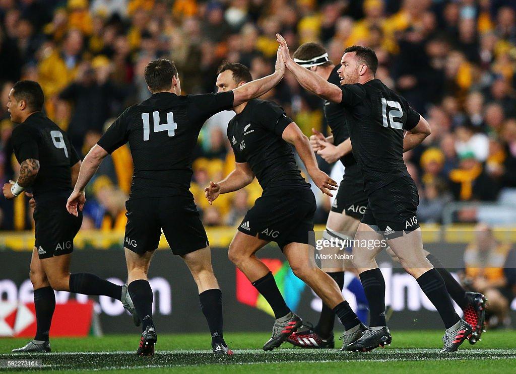 Australia v New Zealand : News Photo