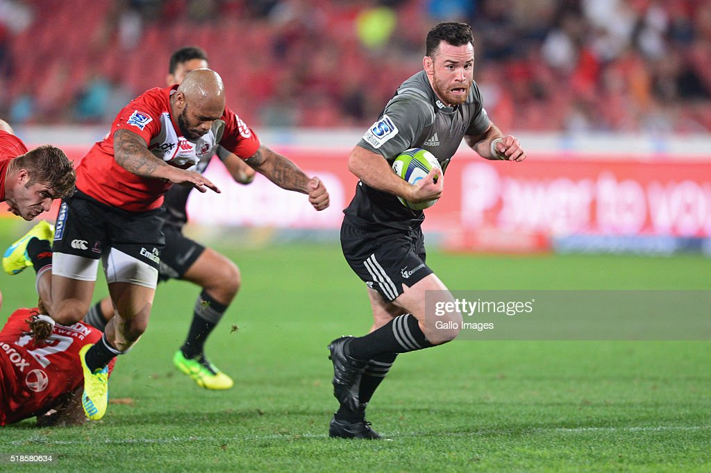 Super Rugby Rd 6 - Lions v Crusaders : News Photo
