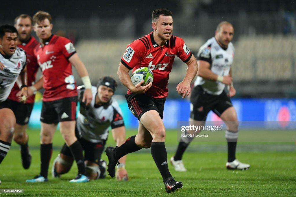 Super Rugby Rd 10 - Crusaders v Sunwolves