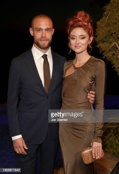 """Ryan Daniel O'Leary and Caroline D'Amore attend a private event with the cast of MTV's """"The Hills"""" hosted by Cure Addiction Now & The Red Songbird..."""