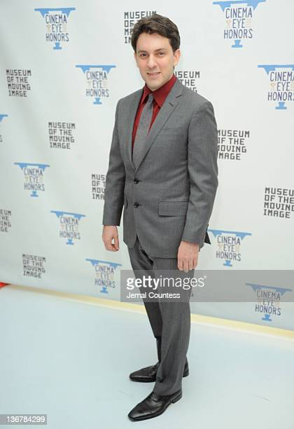 Ryan Denmark attends the 5th Annual Cinema Eye Honors for Nonfiction Filmmaking at the Museum of the Moving Image on January 11 2012 in the Queens...
