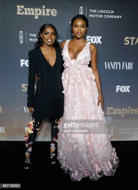 Ryan Destiny and Amiyah Scott attend Empire Star celebrate FOX's New Wednesday Night at One World Observatory on September 23 2017 in New York City