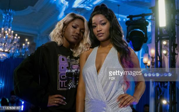 Ryan Destiny and guest star Keke Palmer behind the scenes in the Watch the Throne episode of STAR airing Wednesday March 20 on FOX
