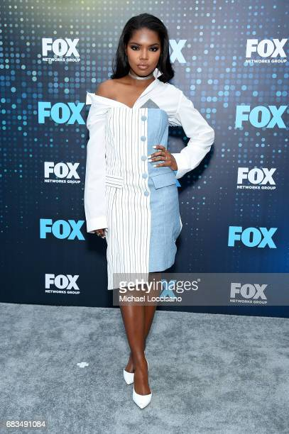 Ryan Destiny attends the 2017 FOX Upfront at Wollman Rink Central Park on May 15 2017 in New York City