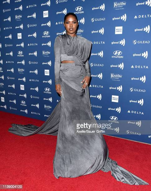 Ryan Destiny attends the 30th Annual GLAAD Media Awards at The Beverly Hilton Hotel on March 28 2019 in Beverly Hills California