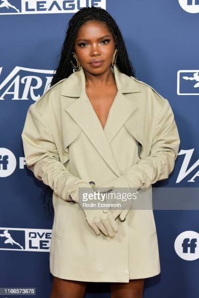 Ryan Destiny attends Variety's Power of Young Hollywood at The H Club Los Angeles on August 06 2019 in Los Angeles California