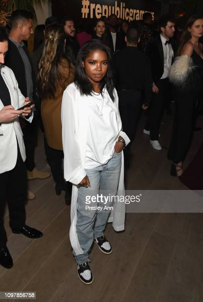 Ryan Destiny during Republic Records Grammy after party at Spring Place Beverly Hills on February 10 2019 in Beverly Hills California