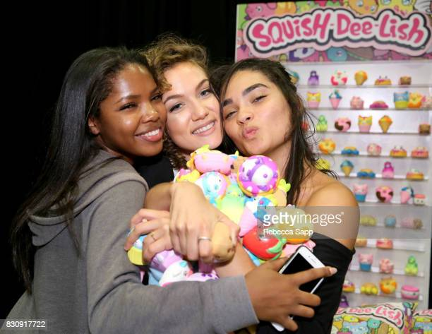 Ryan DestinyJude Demorest and Brittany O'Grady at Backstage Creations Celebrity Retreat at Teen Choice 2017 Day 1 at Galen Center on August 12 2017...