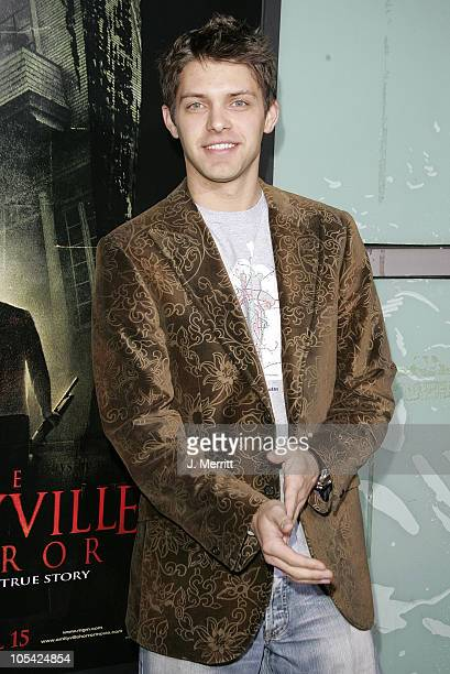Ryan Devlin during The Amityville Horror World Premiere at Arclight Cinerama Dome in Hollywood California United States