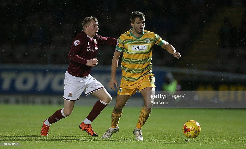 Northampton Town v Yeovil Town - Sky Bet League Two : News Photo