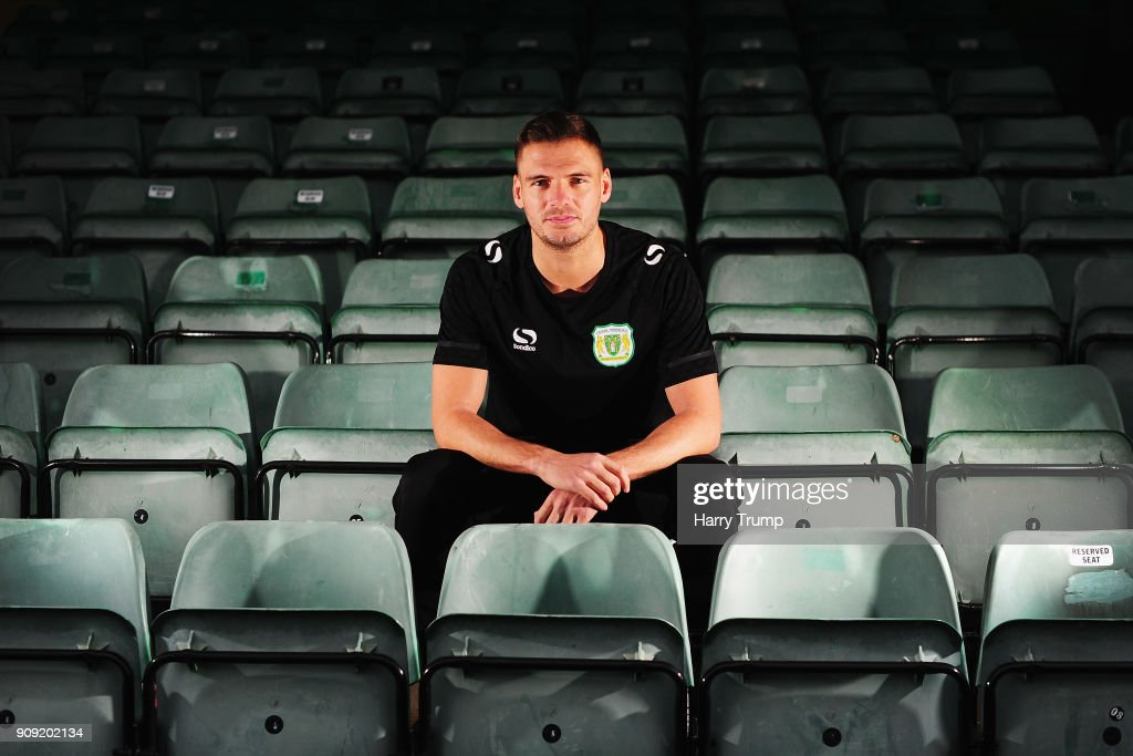 Yeovil Town Media Access Ahead of FA Cup Fourth Round : News Photo