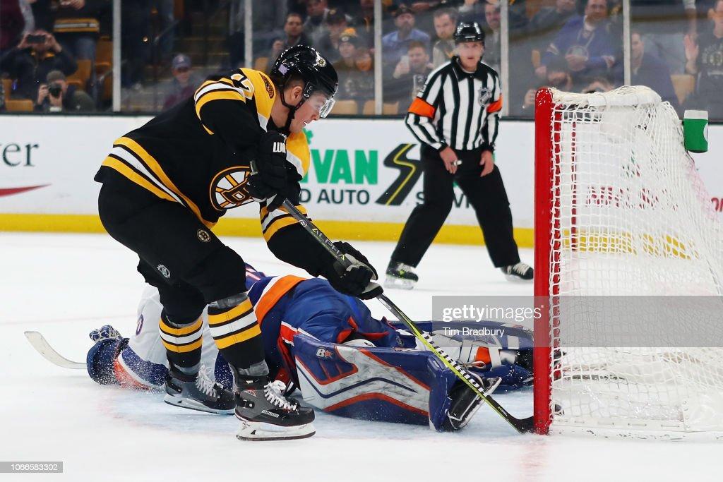 New York Islanders v Boston Bruins : News Photo