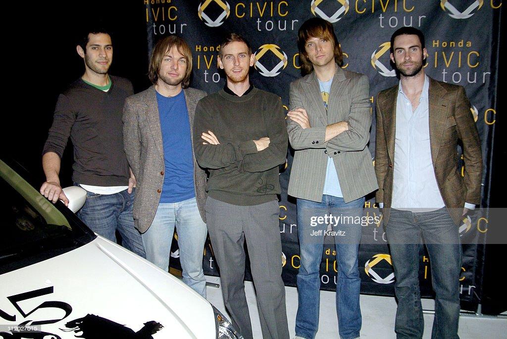 "Maroon 5 Headlines 5th Anniversary ""05"" Honda Civic Tour"