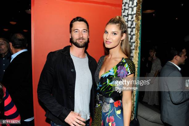 Ryan Eggold and Ashley Haas attend MarVista Entertainment And Parkside Pictures With The Cinema Society Host The After Party For 'The Year Of...