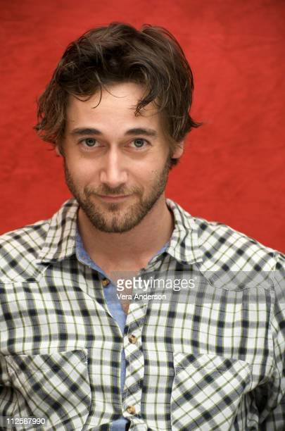 "Ryan Eggold at the ""90210"" press conference at the Four Seasons Hotel on March 26, 2009 in Beverly Hills, California."
