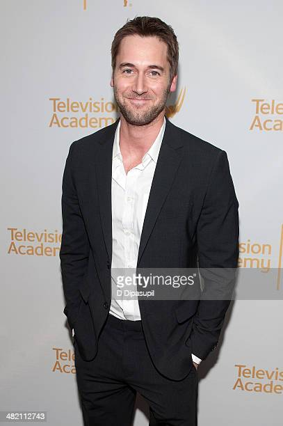 Ryan Eggold attends an evening with 'The Blacklist' at Florence Gould Hall on April 2 2014 in New York City