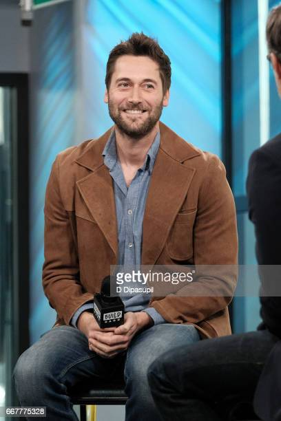 "Ryan Eggold attends the Build Series to discuss ""The Blacklist: Redemption"" and ""Literally, Right Before Aaron"" at Build Studio on April 12, 2017 in..."