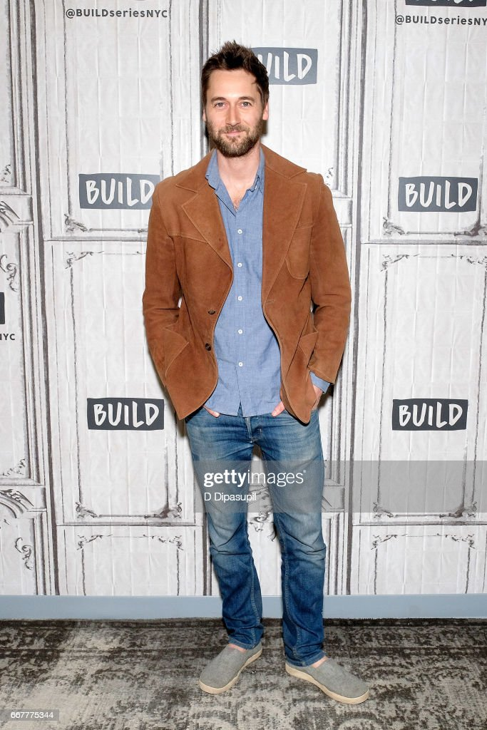 Ryan Eggold attends the Build Series to discuss 'The Blacklist: Redemption' and 'Literally, Right Before Aaron' at Build Studio on April 12, 2017 in New York City.