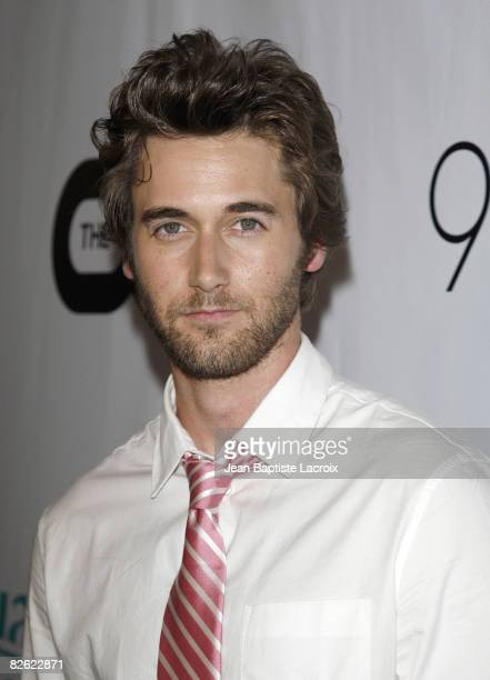 Ryan Eggold attends the CW Network's 90210 Premiere Party on August 23, 2008 in Malibu, California.