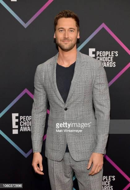 Ryan Eggold attends the People's Choice Awards 2018 at Barker Hangar on November 11, 2018 in Santa Monica, California.