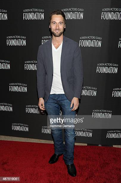 Ryan Eggold attends the 'Stars Turn Out For The Opening Of SAG Foundation Actors Center on April 30 2014 in New York City