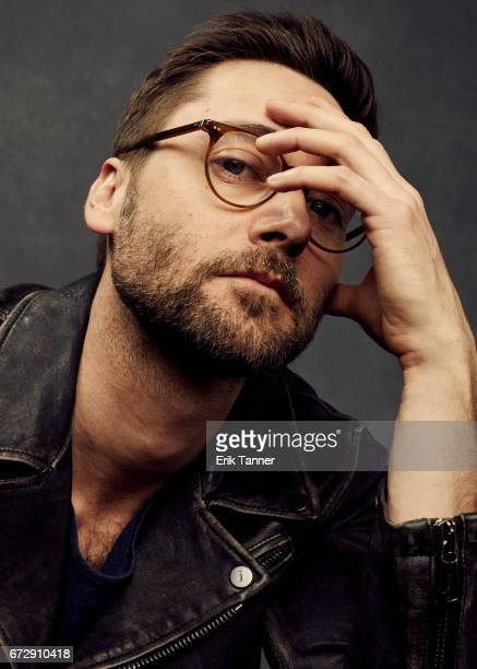Ryan Eggold from 'Literally Right Before Aaron' poses at the 2017 Tribeca Film Festival portrait studio on April 24 2017 in New York City