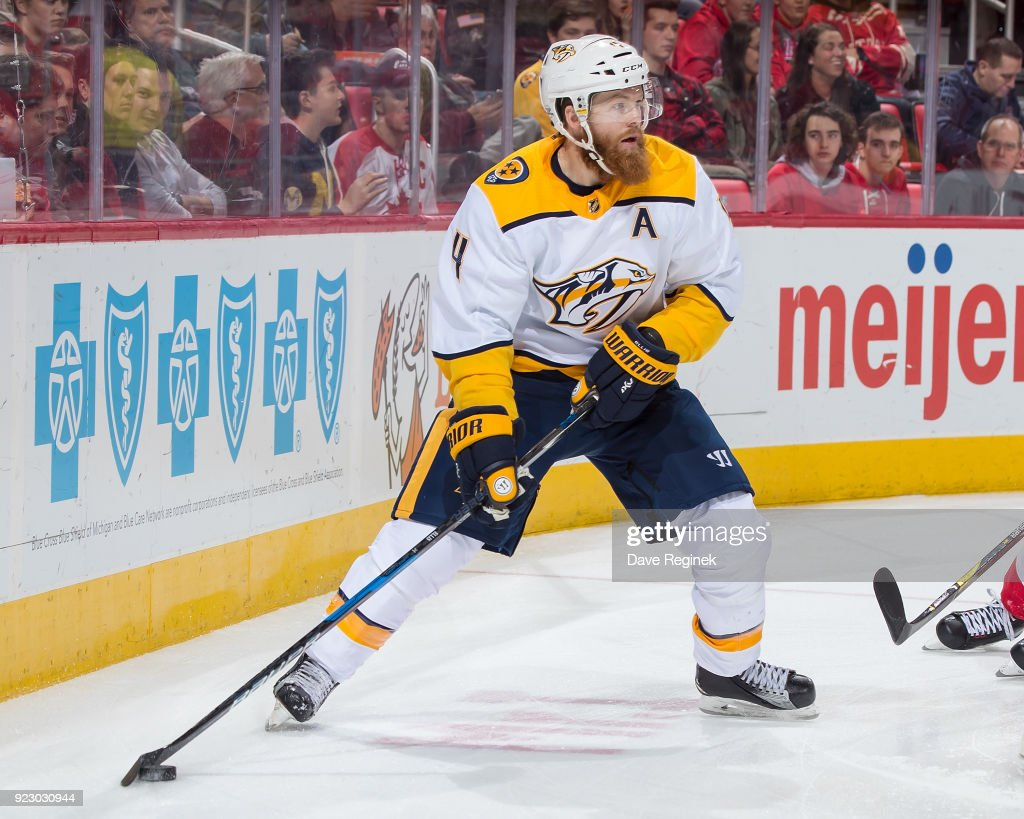 Nashville Predators v Detroit Red Wings't : News Photo