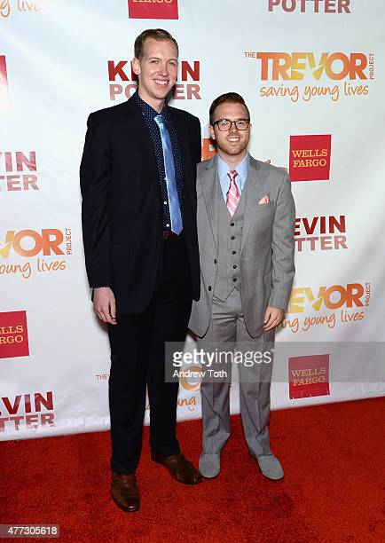 Ryan Fecteau attends TrevorLIVE New York 2015 at Marriott Marquis Hotel on June 15 2015 in New York City