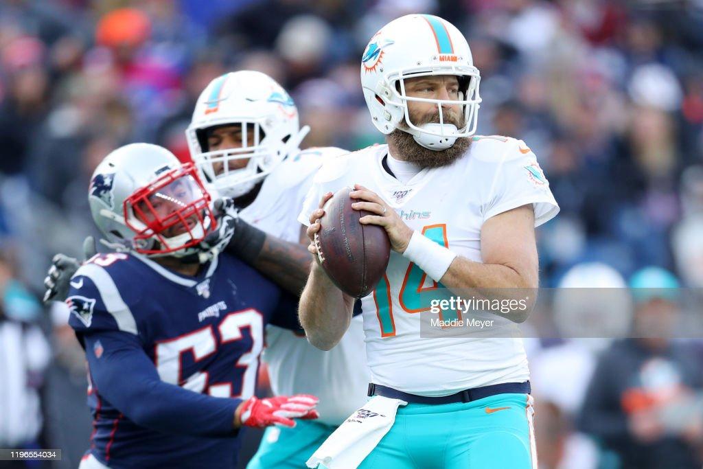 Miami Dolphins vNew England Patriots : News Photo
