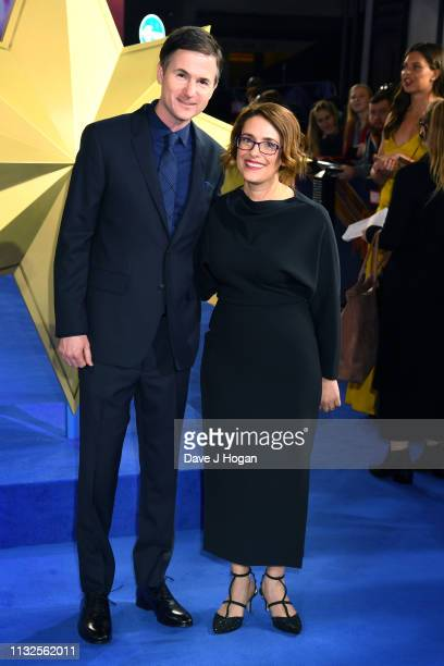 Ryan Fleck and Anna Boden attend the Captain Marvel European Gala held at The Curzon Mayfair on February 27 2019 in London England